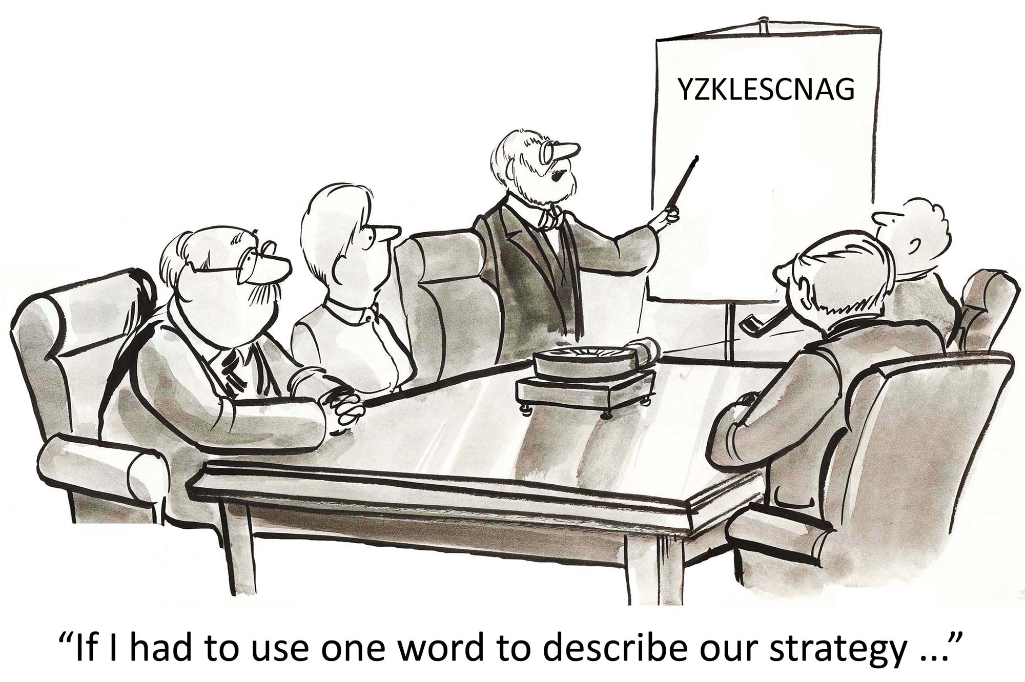 Language confusion can cause significant problems in business strategy development and effectiveness